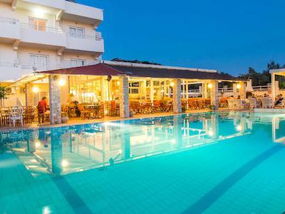 Grecia, Rodi - Evita hotel Faliraki
