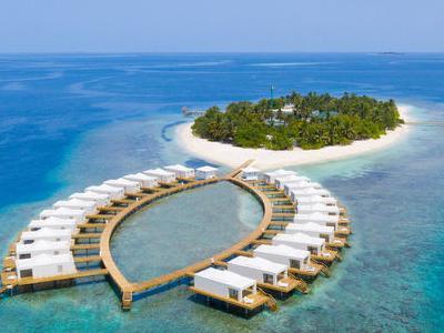 Maldive, Male - Sandies Bathala
