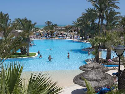 Tunisia, Djerba - Fiesta Beach Djerba