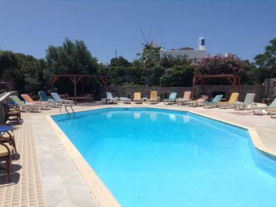 Grecia, Paros - Hotel Pandrossos