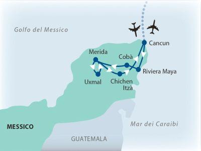 Messico, Riviera Maya - Minitour Maya + Veraclub Royal Tulum