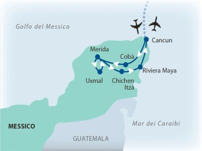 Messico, Riviera Maya - Tour Yucatan + Veraclub Royal Tulum