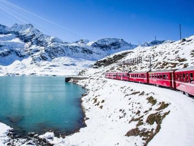 Party con noi, Lombardia - Trenino del Bernina Express