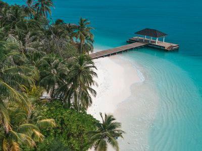 Maldive, Male - Fiyavalhu Hotel