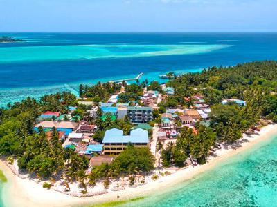 Maldive, Male - Plumeria Hotel