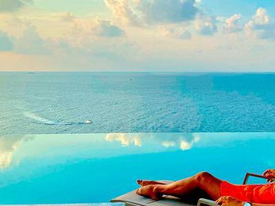 Maldive, Male - Kaani Palm Beach