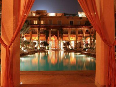 Marocco, Marrakech - Les Jardins De La Koutoubia